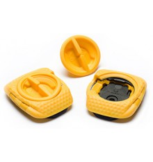 SPEEDPLAY Zero Aero Walkable yellow cleats