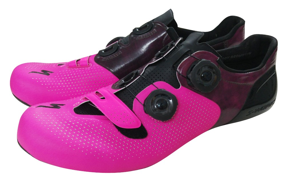 specialized s works 6 neon pink road shoes limited. Black Bedroom Furniture Sets. Home Design Ideas