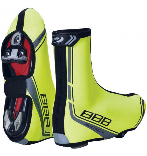 BBB couvre-chaussures Heavyduty OSS Jaune Fluo