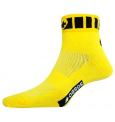 ASSOS Spring Fall yellow socks