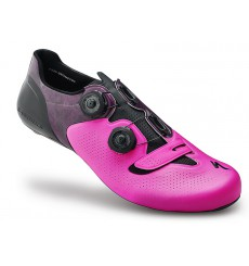 SPECIALIZED chaussures route S-Works 6 rose fluo édition limitée