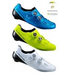 SHIMANO S-Phyre RC9 wide men's road cycling shoes
