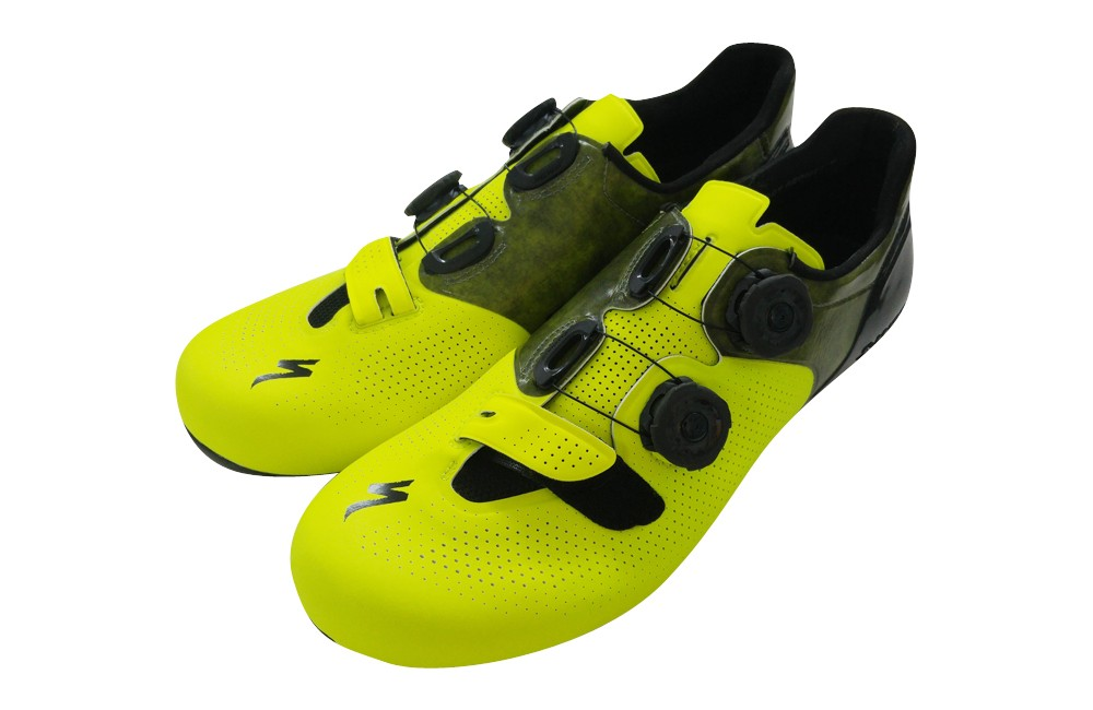 983af01eacc SPECIALIZED S-Works 6 neon yellow road shoes - limited edition. Zoom