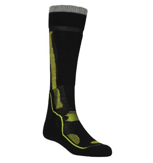 ORTOVOX chaussettes homme Ski Plus noir