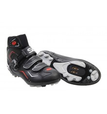 SIDI BREEZE RAIN  Black winter MTB shoes