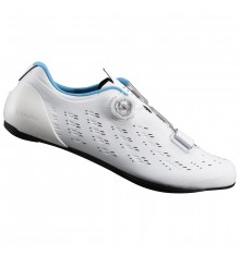 SHIMANO chaussures route homme RP9 blanc