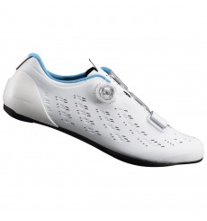 SHIMANO RP9 white road cycling shoes