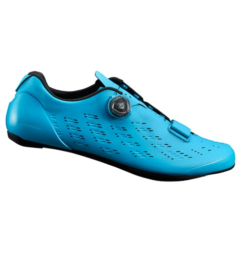 SHIMANO chaussures route homme RP9 bleu