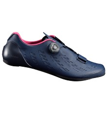 SHIMANO RP9 navy road cycling shoes