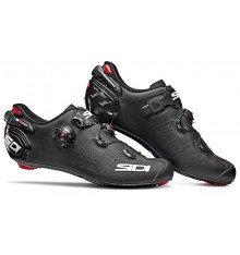 SIDI Wire 2 Carbon matt black road cycling shoes 2020
