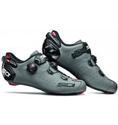 SIDI chaussures route Wire 2 Carbon gris mat noir 2019