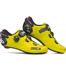 SIDI Wire 2 Carbon yellow fluo black road cycling road shoes 2019