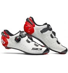Chaussures vélo route SIDI Wire 2 Carbon blanc noir rouge 2020