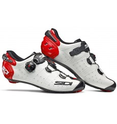 SIDI Wire 2 Carbon white red black road cycling shoes 2019