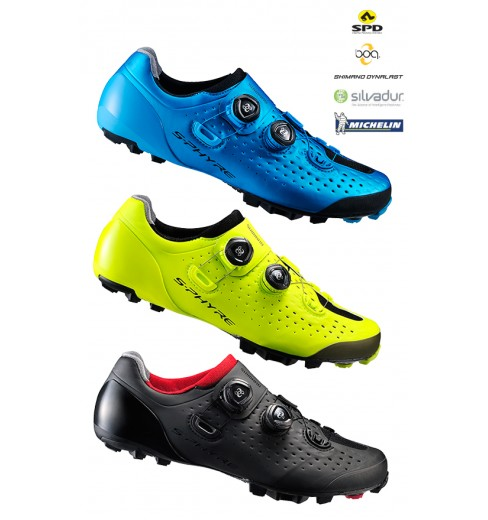 Chaussures VTT SHIMANO S-Phyre XC9 large 2018