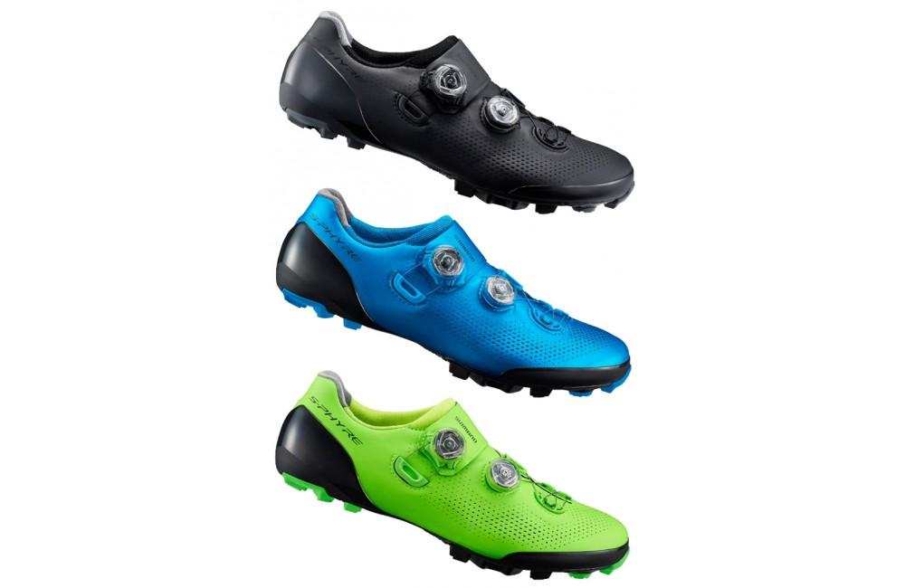 sélection mondiale de conception de la variété luxuriant dans la conception SHIMANO chaussures VTT homme S-Phyre XC901 2019