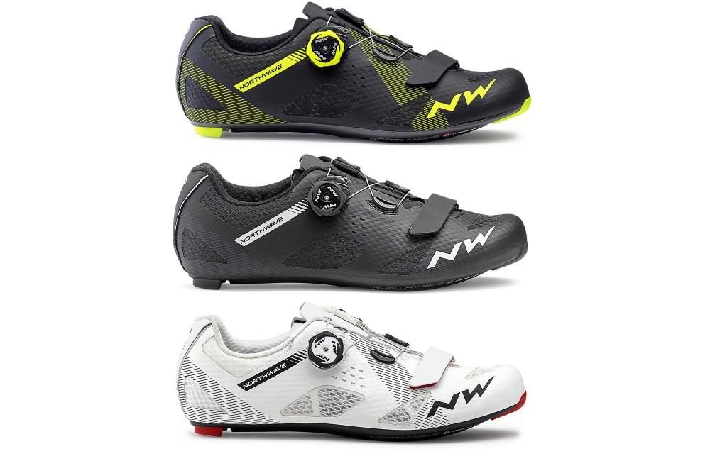 Northwave Storm Carbon Road Road Chaussures de v/élo de Route Blanc