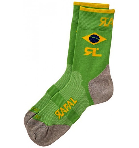 RAFA'L Carbone Selection Brazil socks