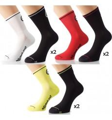 ASSOS 2 paires de chaussettes été Mille S7 2015