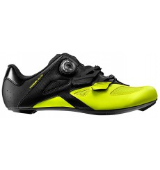 MAVIC Cosmic Elite black / yellow road cycling shoes 2018