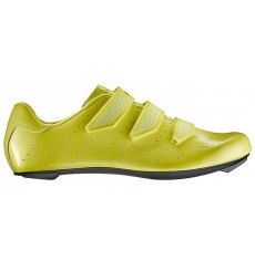 MAVIC Cosmic yellow men's road cycling shoes 2019