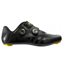 MAVIC Cosmic Pro black / yellow road cycling shoes 2019
