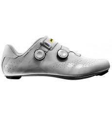 MAVIC Cosmic Pro white / black road cycling shoes 2019