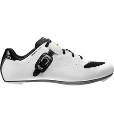 MAVIC Aksium Elite III white / black men's road shoes 2018