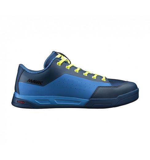 Chaussures VTT MAVIC all mountain DEEMAX ELITE FLAT bleu 2019