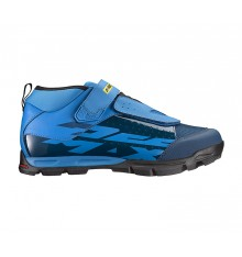 MAVIC DEEMAX Elite blue all mountain shoes 2019