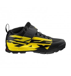 Chaussures VTT all mountain MAVIC DEEMAX PRO noir / jaune 2019