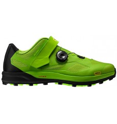 MAVIC XA Pro black / green men's MTB shoes 2019