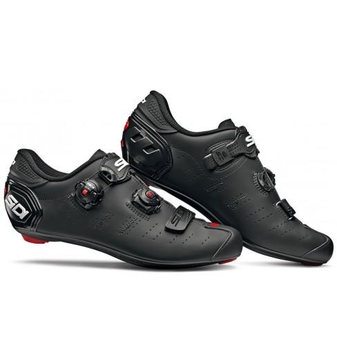 SIDI Ergo 5 Carbon Composite matt black road cycling shoes 2019