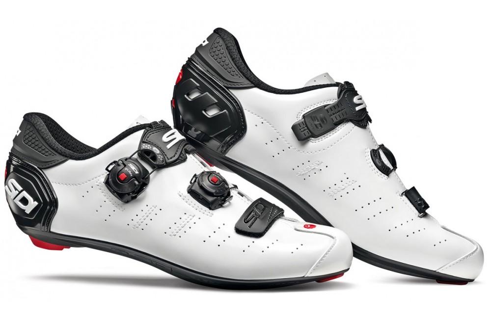SIDI Ergo 5 Carbon Composite white black road cycling shoes 2019