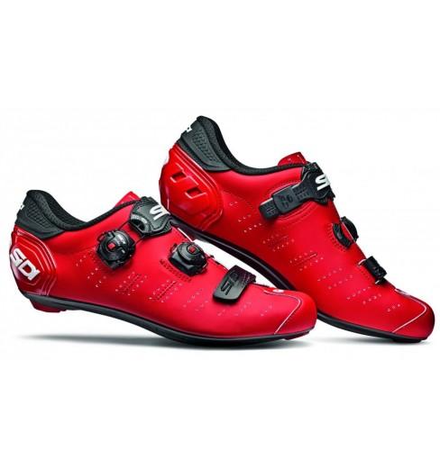 SIDI Ergo 5 Carbon Composite matt red / black road cycling shoes 2021