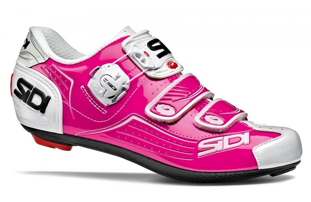 SIDI Alba pink / white women's road