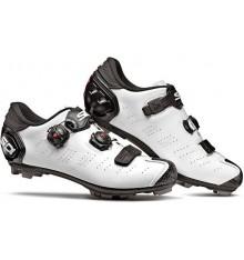 Chaussures VTT SIDI Dragon 5 SRS Carbone blanc noir 2019