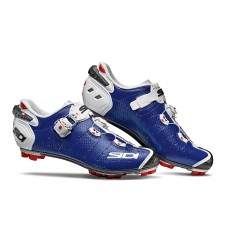 Chaussures VTT SIDI Drako 2 SRS bleu blanc 2019