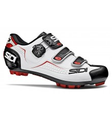 SIDI Trace white black red men's MTB shoes