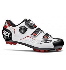 Chaussures VTT homme SIDI TRACE blanc noir rouge