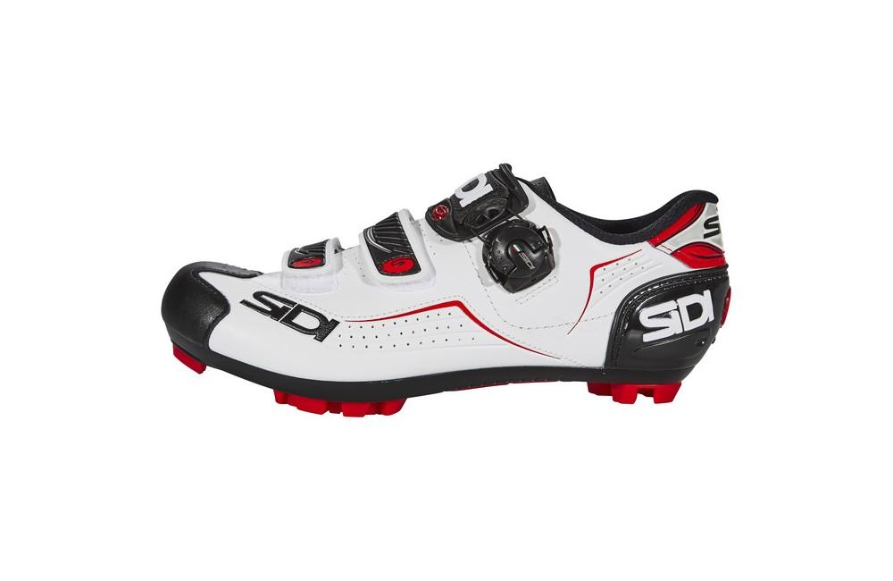 SIDI Trace white black red men's MTB shoes