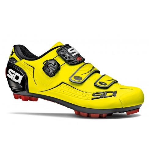 Chaussures VTT homme SIDI TRACE jaune fluo noir