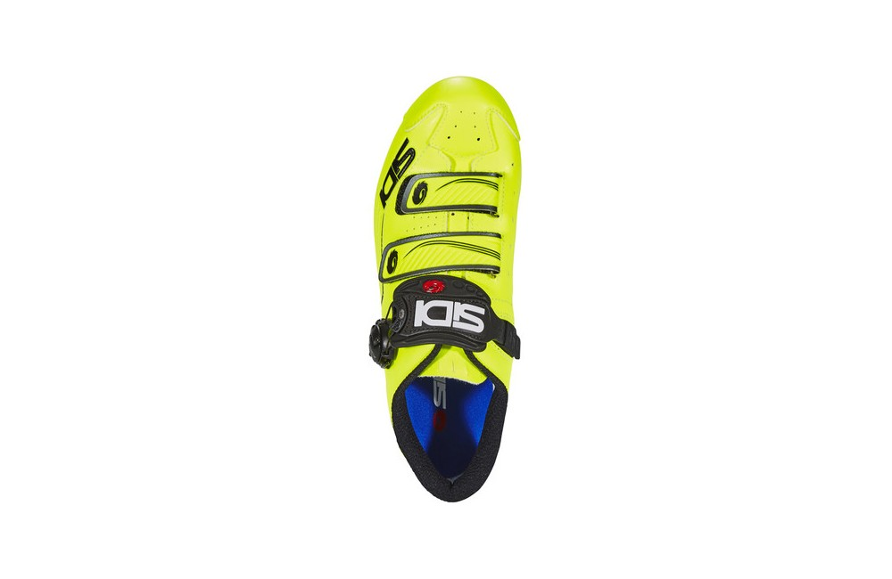 SIDI Trace Road Bike Bicycle Cycling Shoes Yellow Fluo-Black