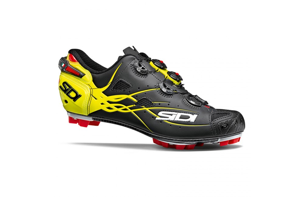 New SIDI TIGER Carbon Mountain MTB Cycling Shoes Bright Yellow US Warehouse