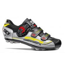Chaussures VTT SIDI Eagle 7 noir gris jaune 2017