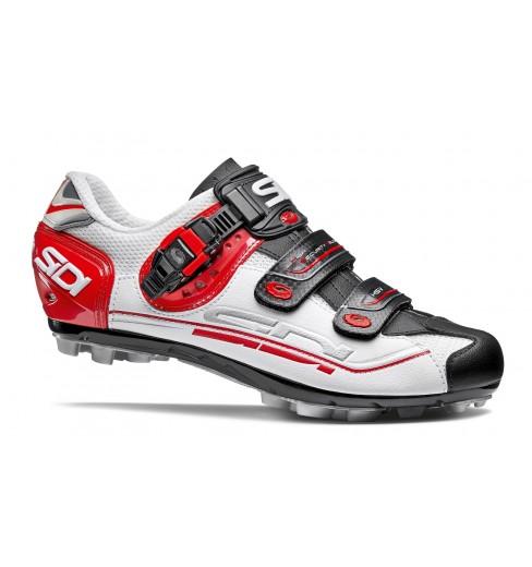 Chaussures VTT SIDI Eagle 7 blanc noir rouge 2017