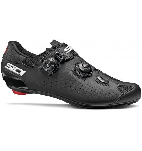 SIDI Genius 10 black road cycling shoes 2019