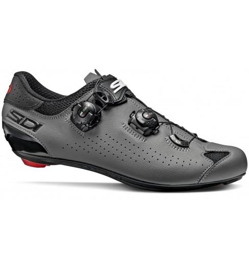 Chaussures de vélo route SIDI Genius 10 noir / gris 2020