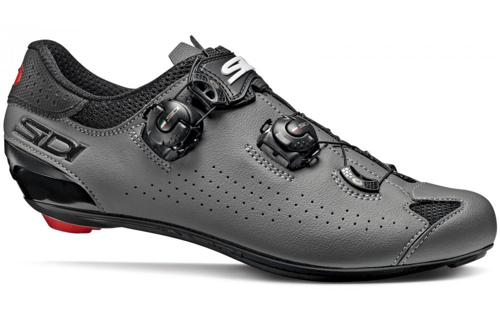 Chaussures de vélo route SIDI Genius 10 noir gris 2020