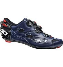 SIDI Shot black / mat blue Carbon road cycling shoes 2020